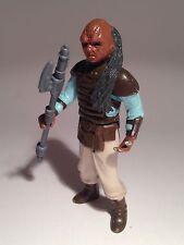 Vintage Star Wars Figure, WEEQUAY , with ORIGINAL Weapon, 1983