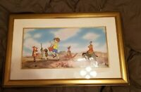 "Walt Disney Cel Art Winnie the Pooh ""Pooh Parade"" Hand Painted LE 65% Off"