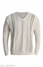 Unbranded V Neck Striped Jumpers & Cardigans for Men