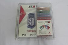 8 Colored Zip Disks  (100MB each) & Mini-Tower Disk Holder Brand New !!!