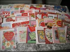 Lot of 124 Assorted Greeting Cards Valentine's Day New