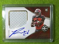 RONALD JONES AUTO ROOKIE CARD JERSEY PATCH RELIC #/199 RPA RC BUCS  2018 Limited