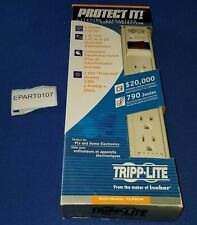 EPART0107 - NOS TRIPP LITE TLP604 SURGE PROTECTOR 6-OUTLET 4FT CORD 790J NEW