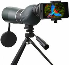 Spotting Scope Telescope,SGODDE 15-45X 60S Waterproof Zoom Single Tube Hd With