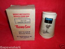 Vintage New Tahitian Thermo-Serv Hot & Cold Beverage Server Coffee/Tea Pitcher