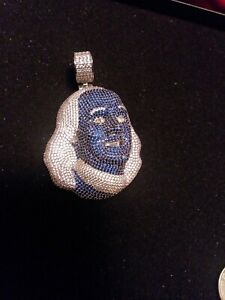 Blueface Benjamin solid 2inch Pendant