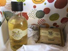 The Body Shop Moringa Shower Gel 250ml & matching Soap 100g NEW!