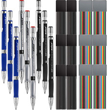 Jovitec 21 Pieces 2.0 Mm Mechanical Pencil Set, 9 Pieces Automatic Pencils And 1