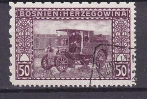 Bosnia Herzeg- 1906 year - Michel 41 G - LZ5  12 1/2:6 1/2 - used - 150 Euro