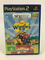 SingStar : The Wiggles - With Manual - PS2 - Playstation 2 - PAL
