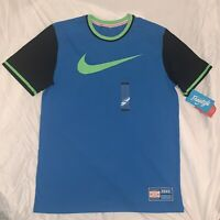 Nike Payton Baseball Doernbecher Freestyle Mens Shirt L Photo Blue CD6487-435