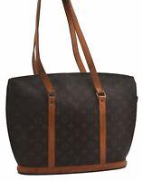 Authentic Louis Vuitton Monogram Babylone Tote Bag M51102 LV B5662