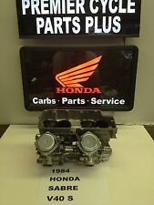 1984 HONDA SABRE V 40 S REMANUFACTURED KEIHIN CARBS CARBURETORS READY TO RUN