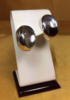 Vintage 925 Fine Sterling Silver Stud Earrings