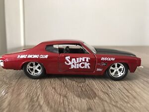 RARE 1970 CHEVROLET CHEVY CHEVELLE SS MUSCLE CAR NEW 1:32 SCALE MODEL BY JADA