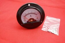 DC 0-10A Round Analog Ammeter Panel Current Dia. 66.4mm 10A DH52 direct connect