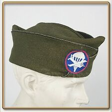 WW2 US Army Officer's PX Olive Drab Garrison Cap 58