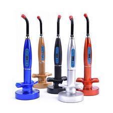 Dentista Dental Wireless Cordless LED Curing Light Lamp 1500mW GRATIS Spedizione