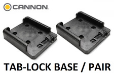CANNON DOWNRIGGER TAB LOCK MOUNTING BASES / PAIR / 2 BASES / PART 2207001 / NEW