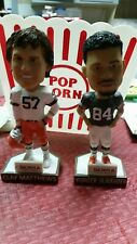 AKRON RUBBERDUCKS WEBSTER SLAUGHTER CLAY MATTHEWS  BOBBLEHEADS CLEVELAND BROWNS