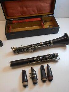Instruments à vent ancien CLARINETTE BUFFET CRAMPON A PARIS