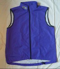 Sugoi Purple Cycling Running Vest Men's Medium