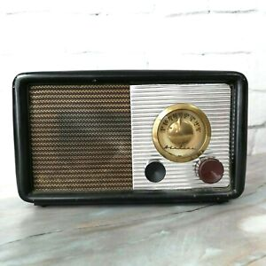 "Vintage Retro AIRLINE RMA Black Tube Radio Service Receiver (GREAT) 12.40"""
