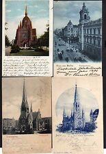 100660 4 AK Berlin Heilige Kreuz Kirche 1904 Trinitatuskirche Goldiner Leipziger