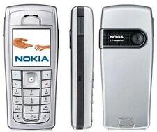 Original Nokia 6230i Cover Oberschale + Tastatur Nokia 6230  Silber Neu