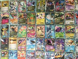 Pokemon Card Lot 50 OFFICIAL Cards Ultra Rare Included - GX/EX/V/MEGA + HOLOS!