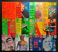 Wired Magazine 1998  Complete 12 Issues Excellent Condition