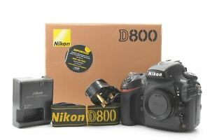 Nikon D800 36.3MP Digital SLR Camera (Body Only) - Black ***142,035 shots***