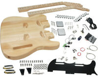 Solo TC Style Double Neck DIY Guitar Kit