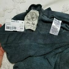 Blue Life Planet Fit yoga leggings size XS New Black Gray Casual or Dressy