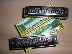 2 Mundharmonikas TREMOLO C und G - Dur