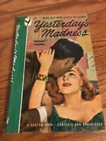 YESTERDAY'S MADNESS by Marian Cockrell Vintage Bantam Book 401