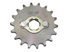 Ritzel 428 18Zähne 20mm inkl. Sicherungsblech Enduro,Motocross,Dirt Bike