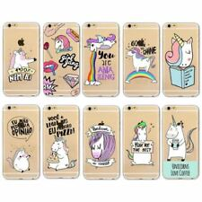 Unicorn Rainbow Transparent Mobile Phone Cases & Covers