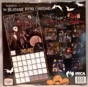 NIGHTMARE BEFORE CHRISTMAS JACK SKELLINGTON 16 MONTH 2006 CALENDAR GREAT PICS