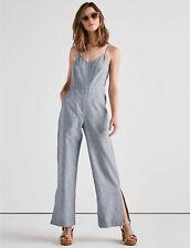 Lucky Brand Women's Easy Stripe Jumpsuit 7732 Size 8