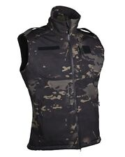 Softshell Weste multitarn black, Weste,Camping,Outdoor,Military,Painball   -NEU-