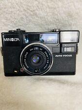 Vintage Minolta Hi-Matic Af2 Point & Shoot 35mm Film Photography Camera