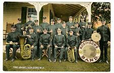 Sea Girt NJ -ROBINSONS BRASS BAND FROM PATERSON- Postcard