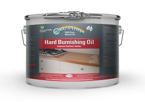 Organoil Hard Burnishing Oil for timber benches 10 litre FREE Postage Aust Made