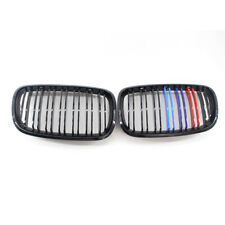 M-Color fit for BMW E70 E71 Gloss Black X5 X6 Front Grill Grille Twin Line Slat