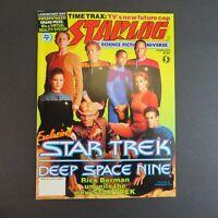 Starlog February 1993 #187 SciFi Magazine - Star Trek Deep Space Nine