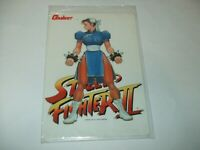 Chun Li Street Fighter 2 Vintage Plastic sheet Shitajiki CAPCOM Japan import