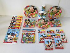 Mickey Mouse Party Pack For 30 People - Complete Childrens Party Pack