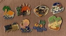 lot de 8 pin's alimentation / Mistral (biscuits) tous différents