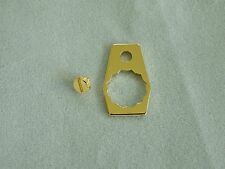 ABU Garcia Ambassadeur handle retainer plate, and screw for classic CDL model